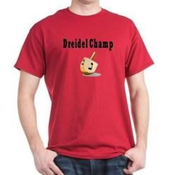 Dreidel Champ Hanukkah Shirt