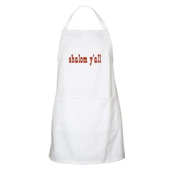 Shalom Y'All Heavy Cotton Twill BBQ Apron