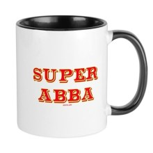 Super Abba Ceramic Father's Day Mug