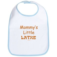 Mommy's Little Latke Hanukkah Bib